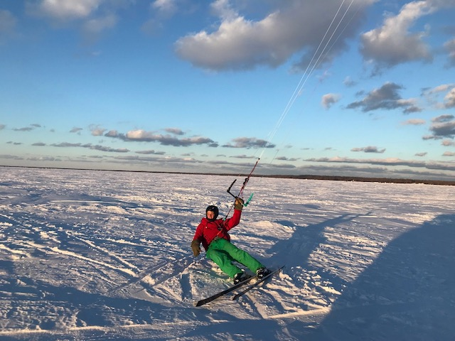 snowkiting minnesota