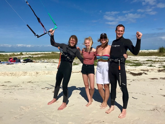 kitesurfing in mexico - travel