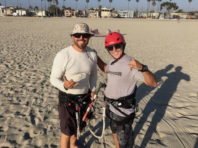 learn to kiteboard - kitesurfing lessons