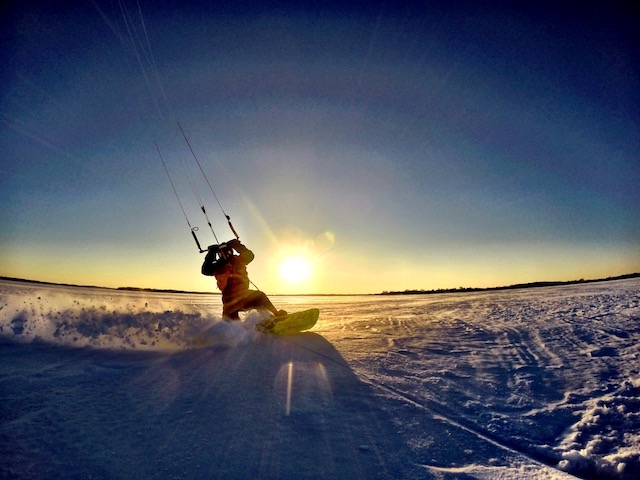 snowkiting minnesota, twin cities