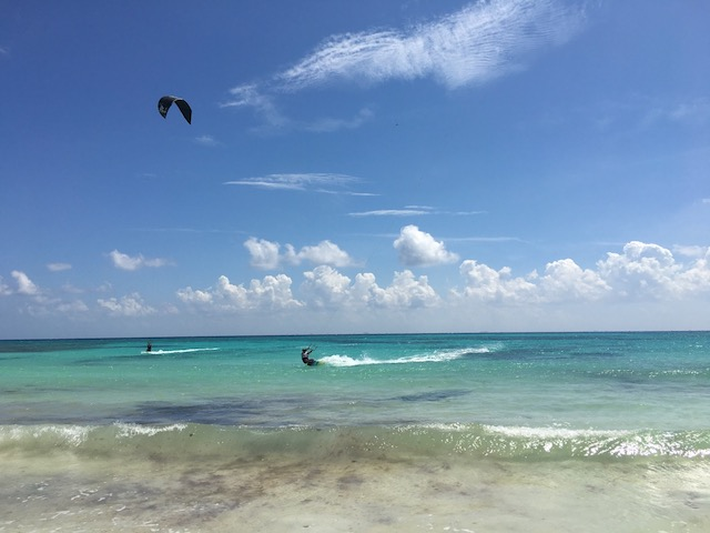 kiteboarding travel